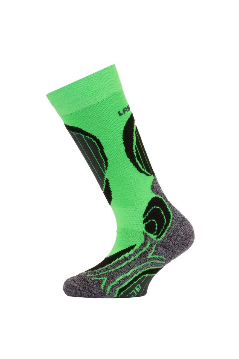 Lasting SJB 609 zelené dětské ponožky Velikost: (34-37) S možnost vrácení do 12.1.2018