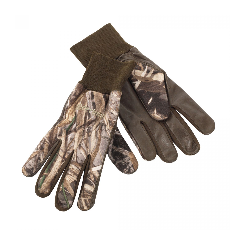 Deerhunter rukavice Fleece Gloves w.Leather (8761) 95 DH Velikost: L
