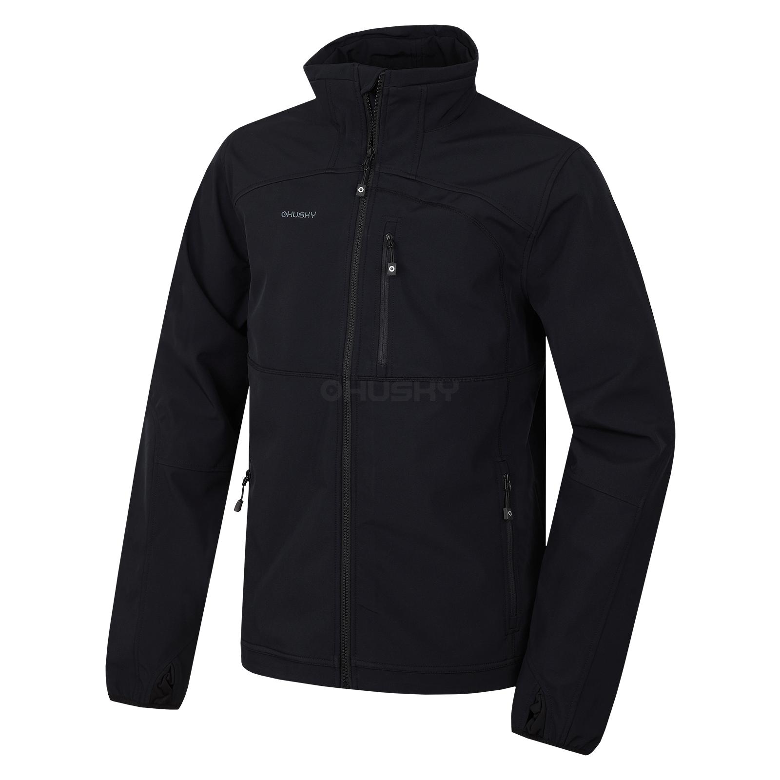 Husky Pánská outdoor bunda Mari M černá Velikost: XL