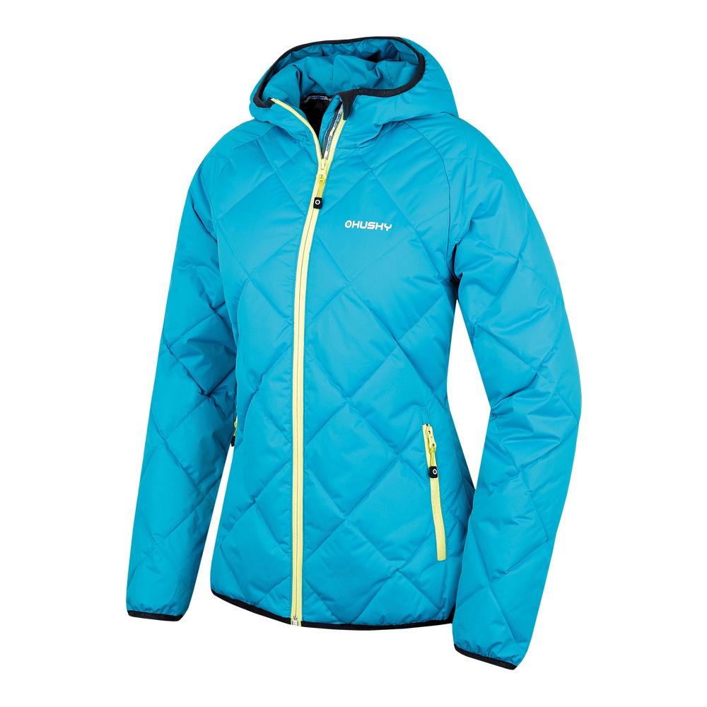 Husky Dámská sportovní péřová bunda Form L sv. modrá Velikost: L