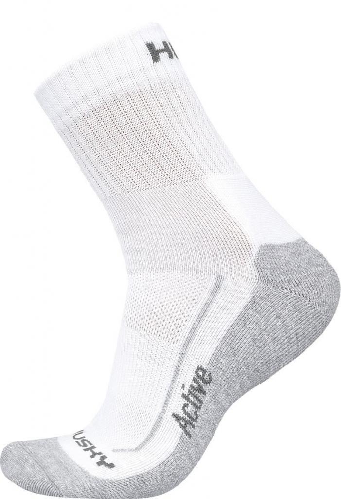 Husky Ponožky Active bílá Velikost: M (36-40)