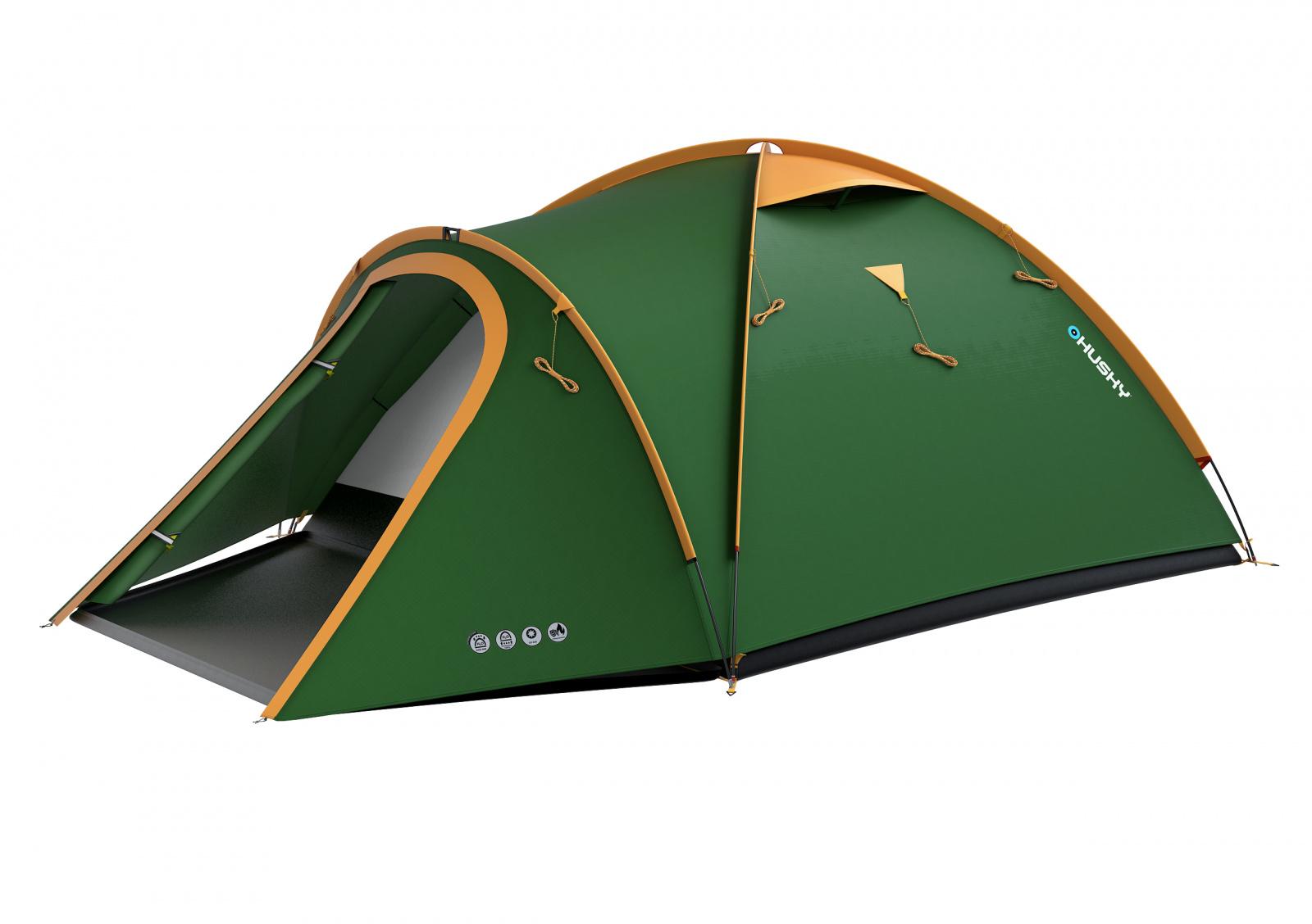 Husky Stan Outdoor Bizon 3 classic zelená