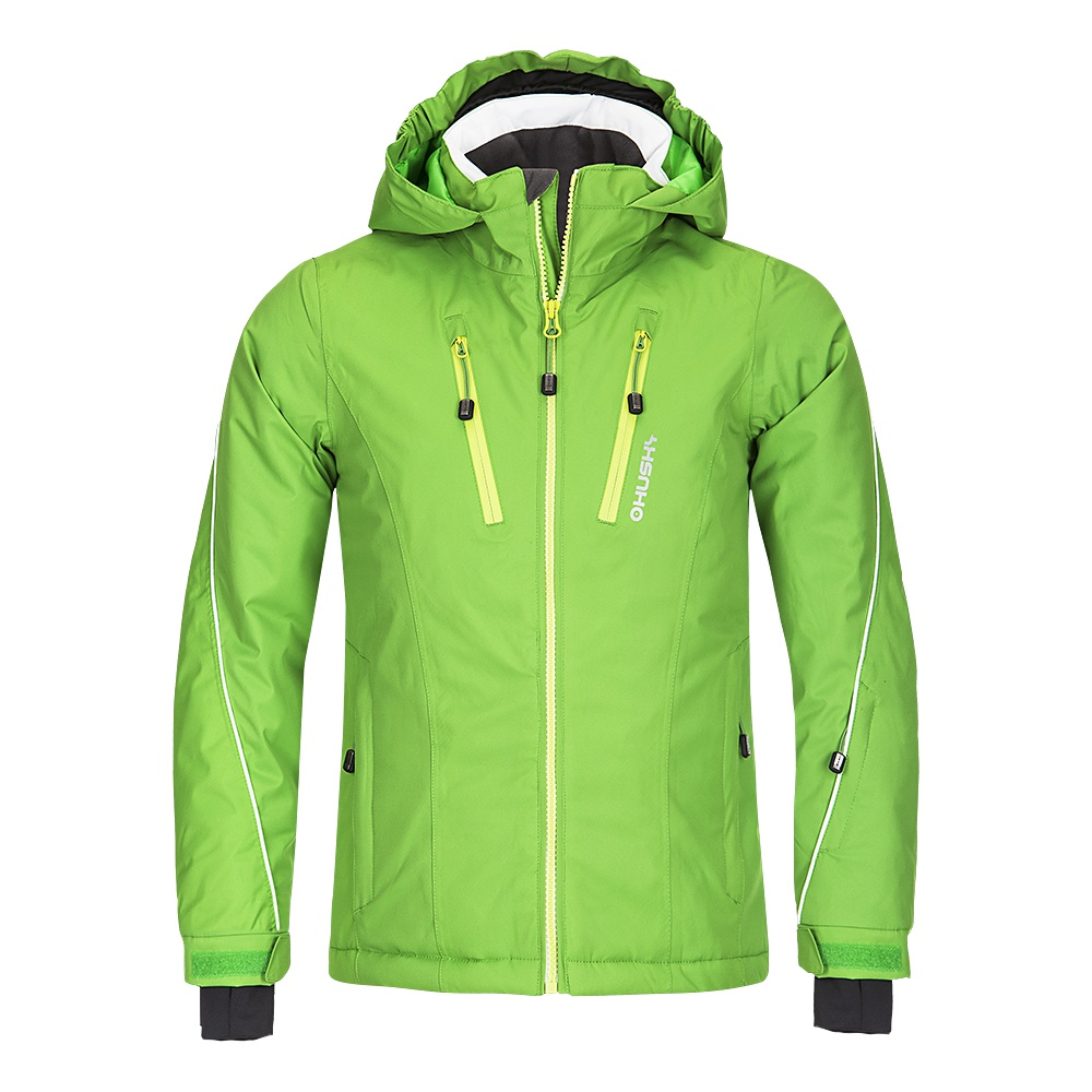 Husky Dětská lyžařská bunda Lona zelená Velikost: 134