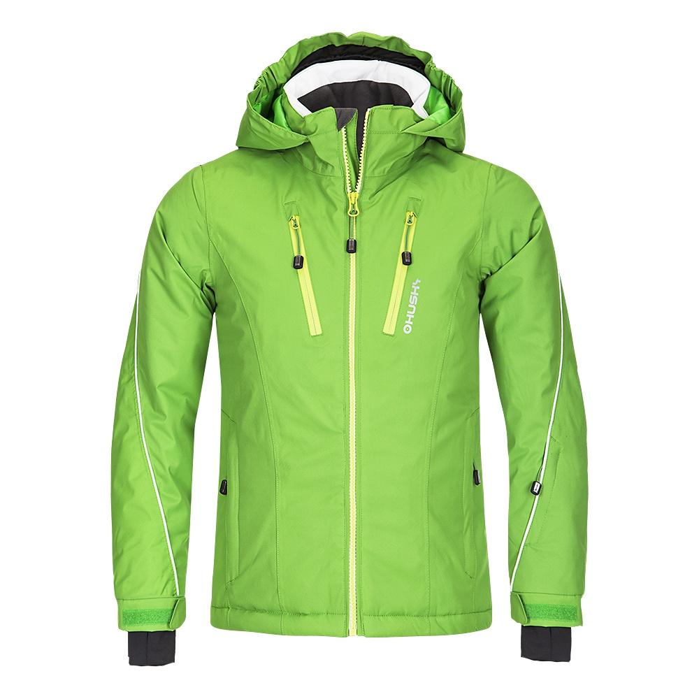 Husky Dětská lyžařská bunda Lona zelená Velikost: 122-128