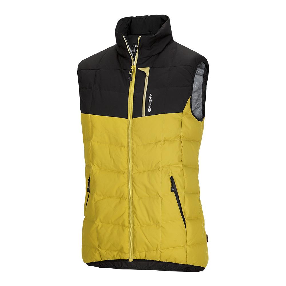 Husky Pánská péřová vesta Florel M žlutá Velikost: L
