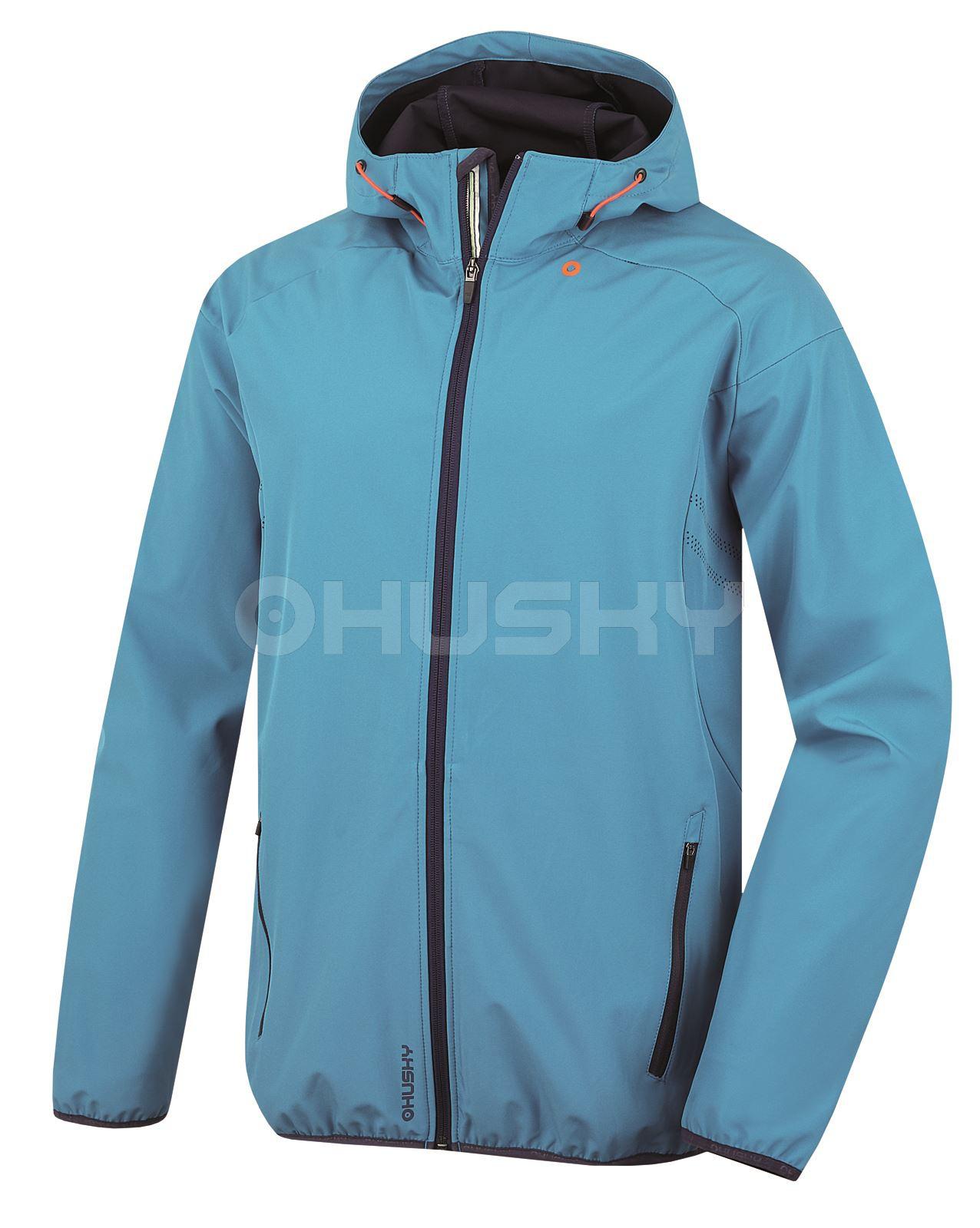 Husky Pánská softshell bunda Sally M modrá Velikost: L