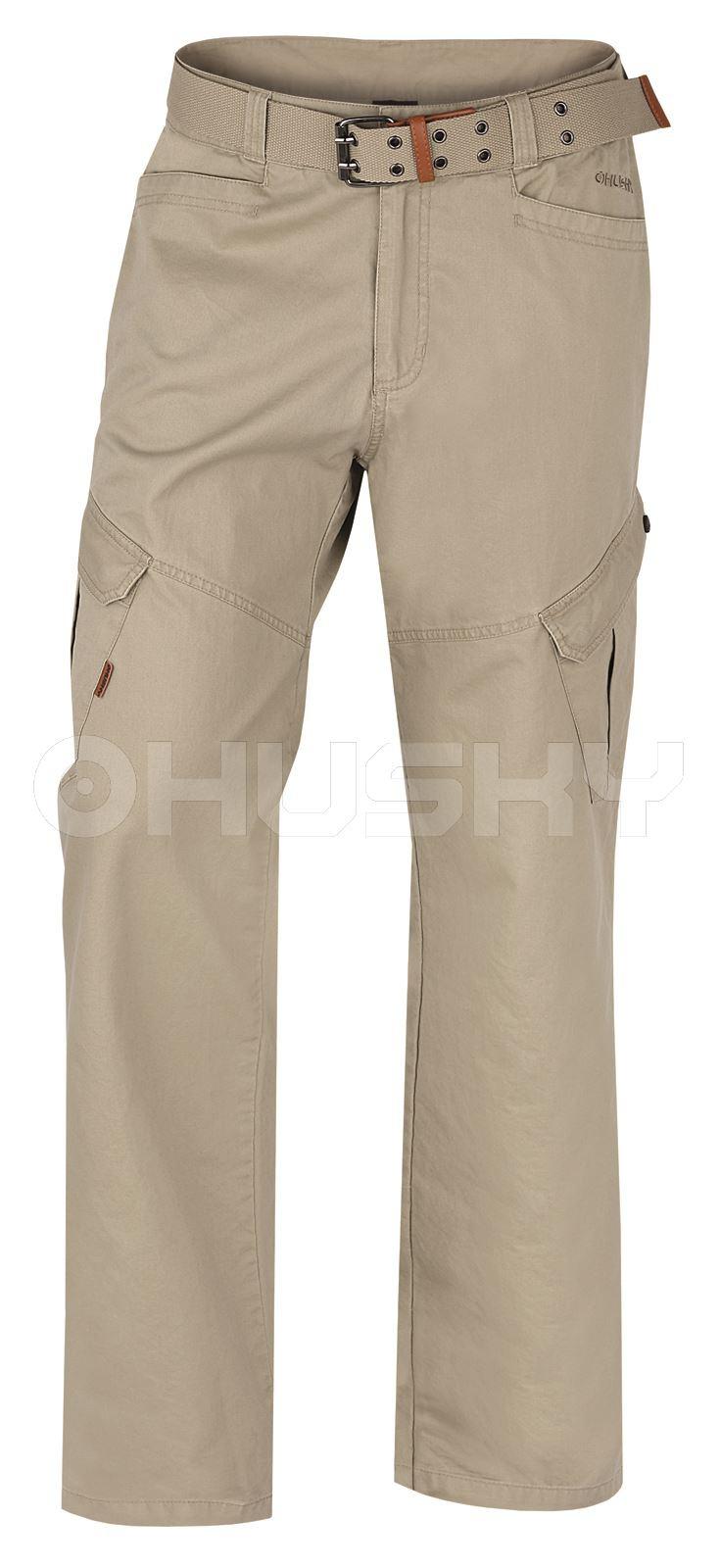 Husky Pánské kalhoty Kaly M béžová Velikost: M