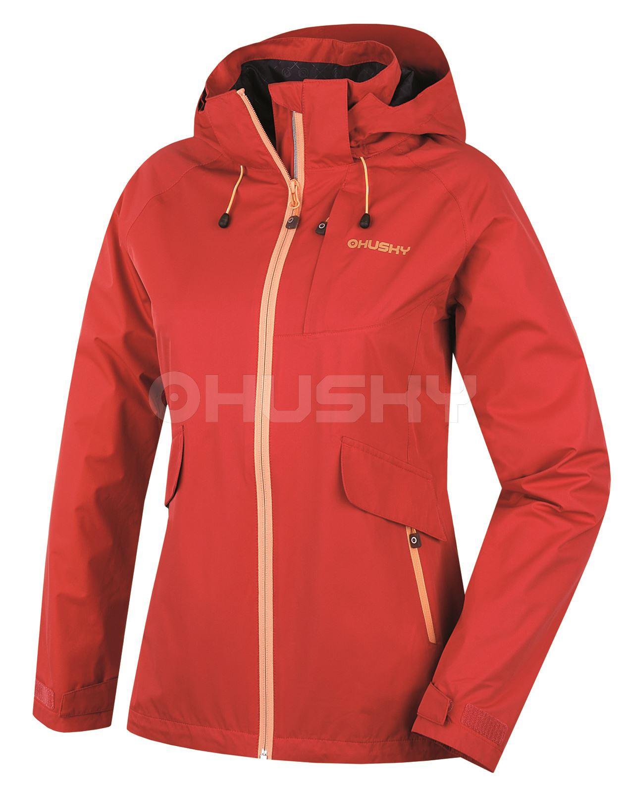 Husky Dámská outdoor bunda Lasty L červená Velikost: M