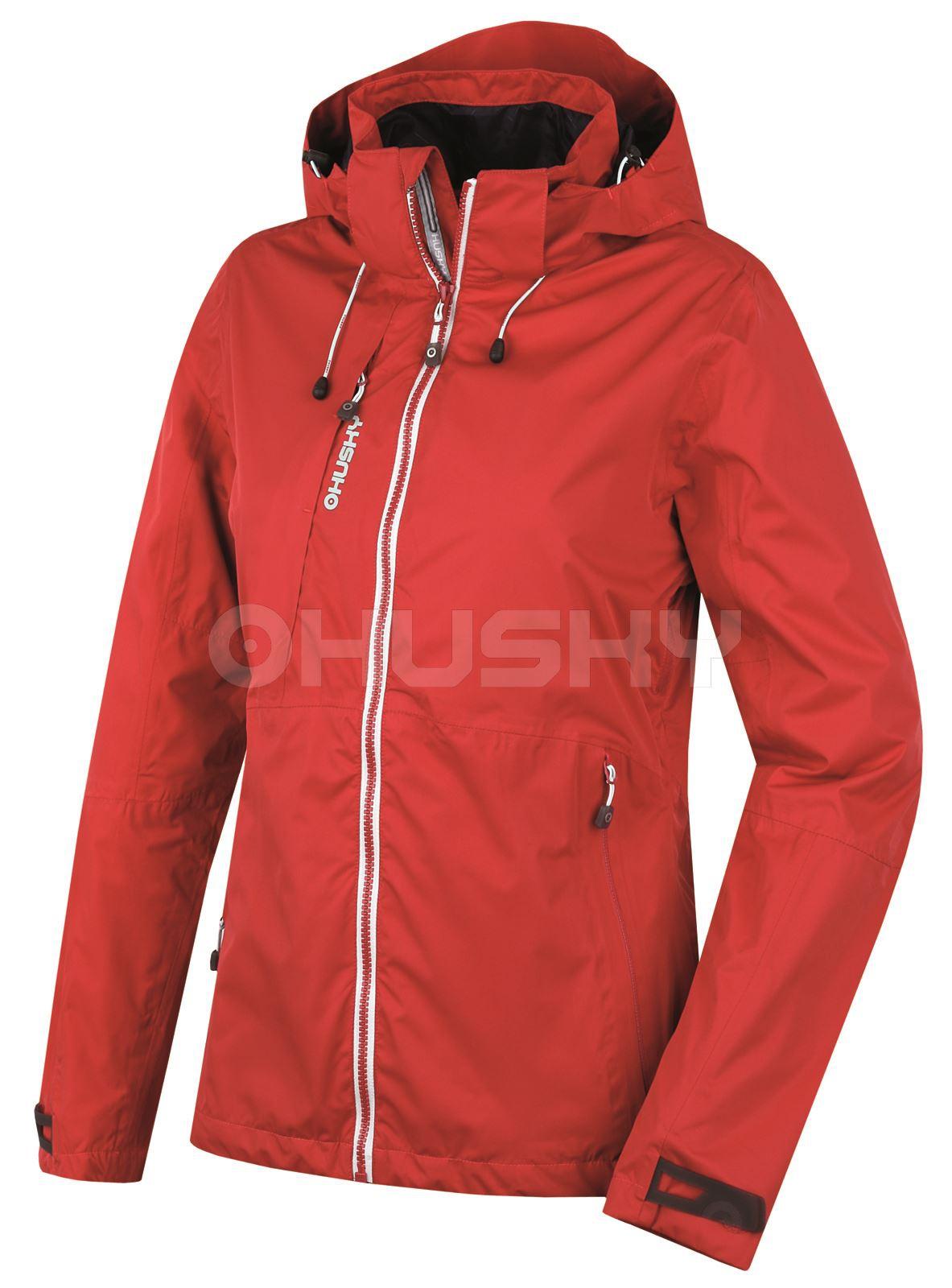 Husky Dámská outdoor bunda Lima L červená Velikost: M