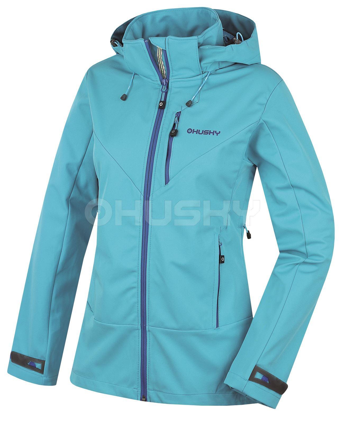 Husky Dámská outdoor bunda Spoly L modrá Velikost: L