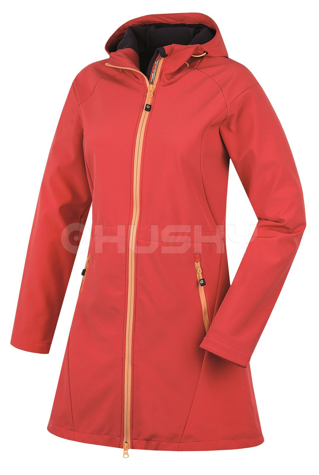Husky Dámský softshellový kabátek Sara červená Velikost: M