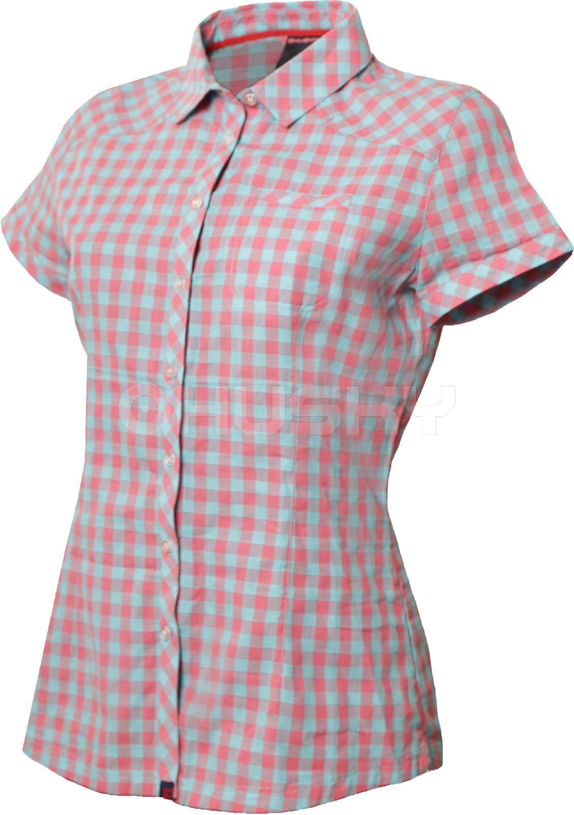 Husky Dámská košile Gvel růžová Velikost: M