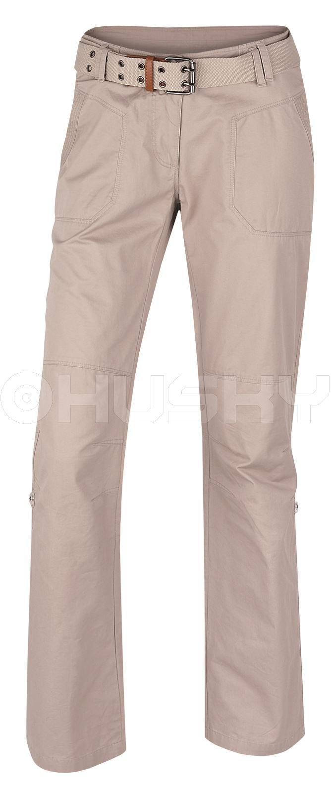 Husky Dámské kalhoty Kaly L béžová Velikost: L