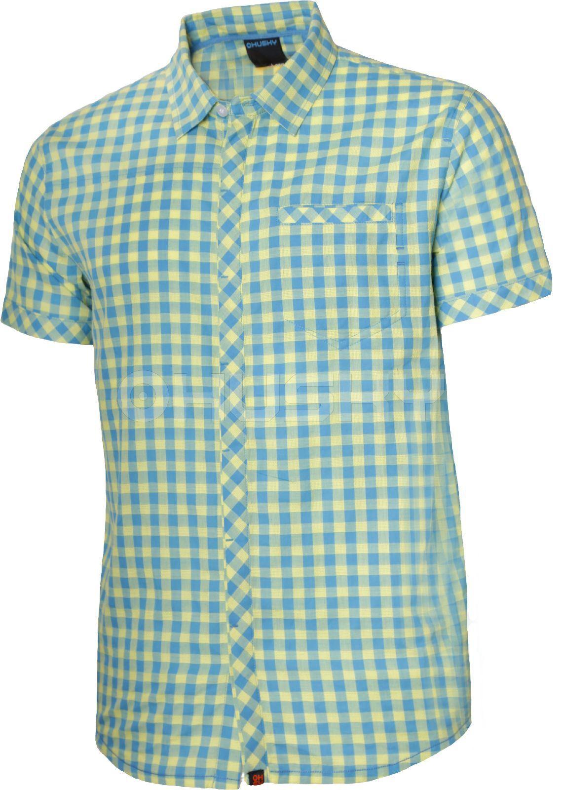 Husky Pánská košile Greim modrá Velikost: XL