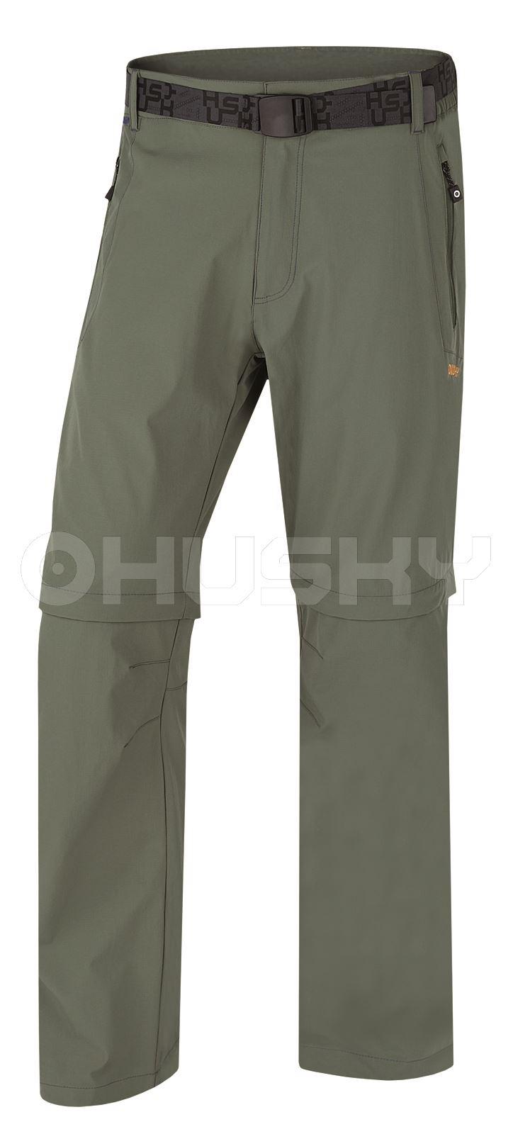 Husky Pánské outdoor kalhoty Pilon M zelená Velikost: L