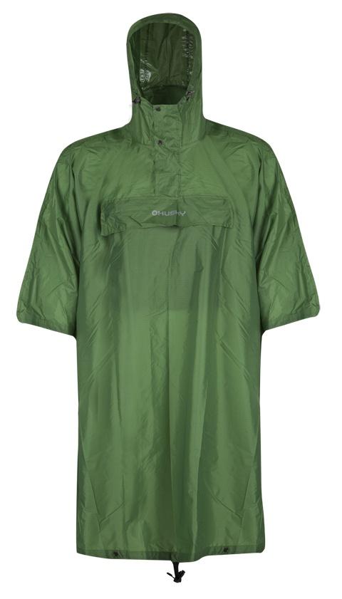 Husky pláštěnka Rainer zelená Velikost: L-XL