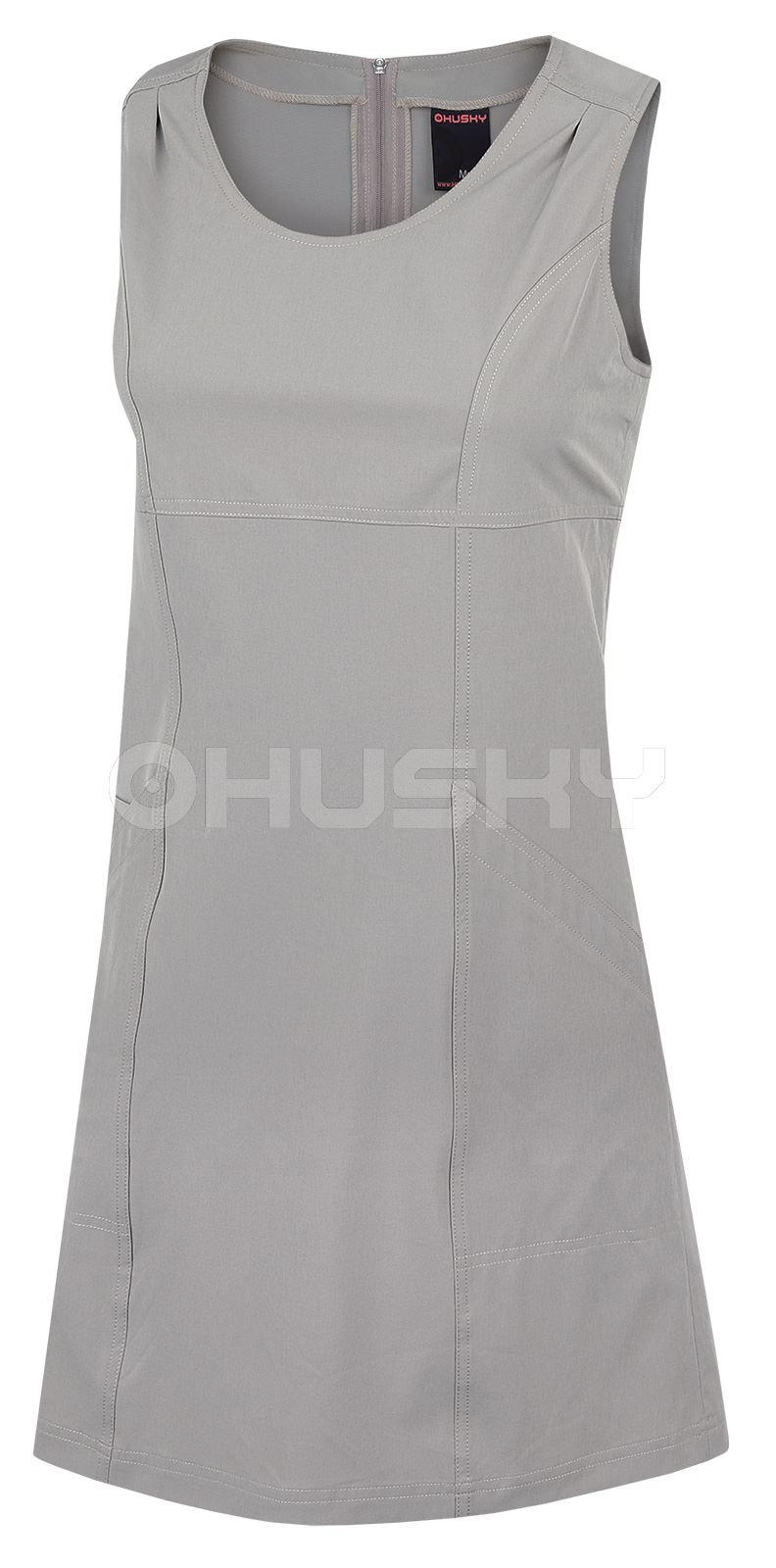 Husky Dámské šaty Malani béžová Velikost: XL