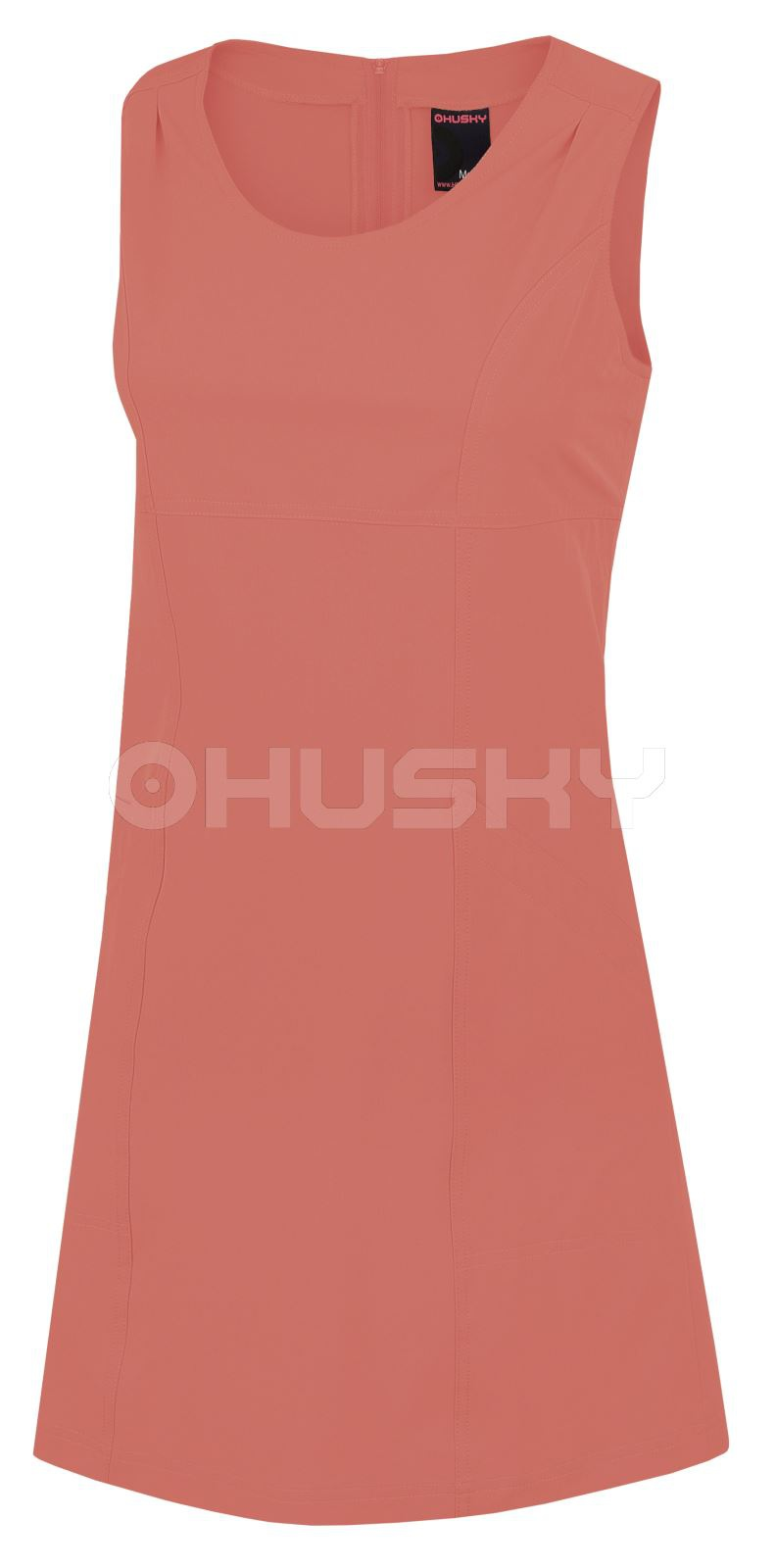 Husky Dámské šaty Malani Cihlová Velikost: XL