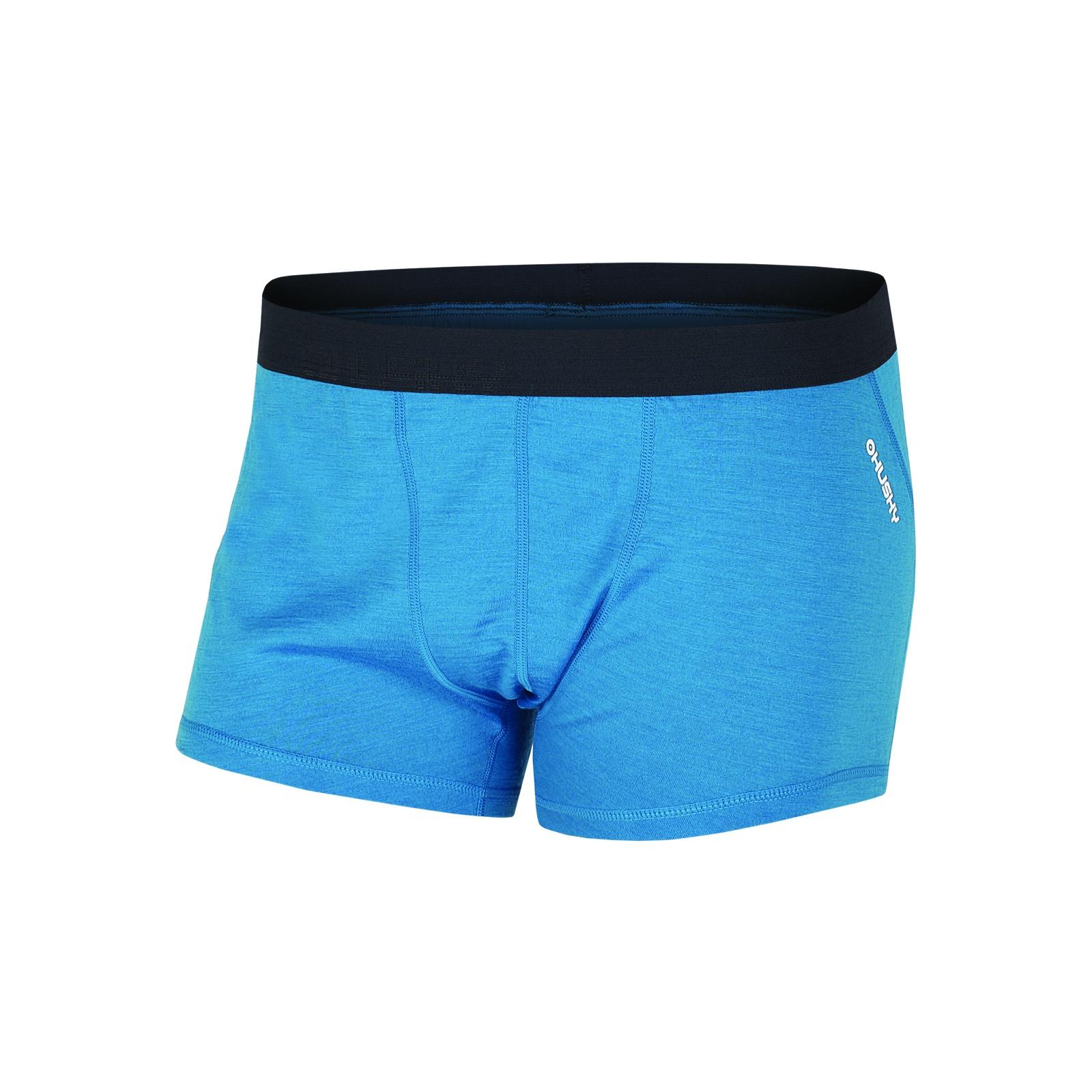 Husky Merino termoprádlo Boxerky pánské modrá Velikost: XL
