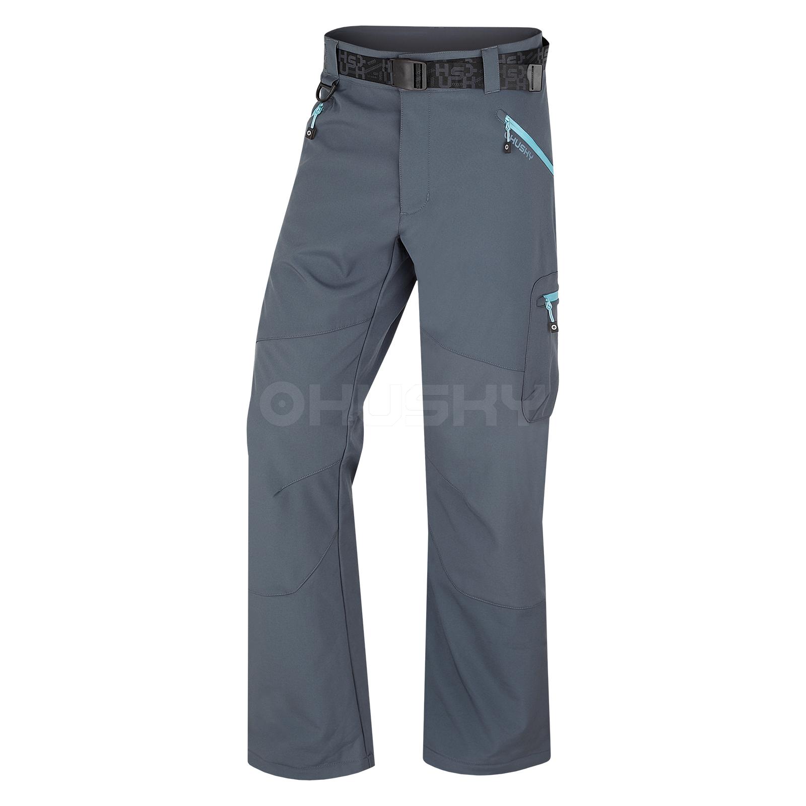 Husky Pánské softshell kalhoty Pander M antracit Velikost: XXL