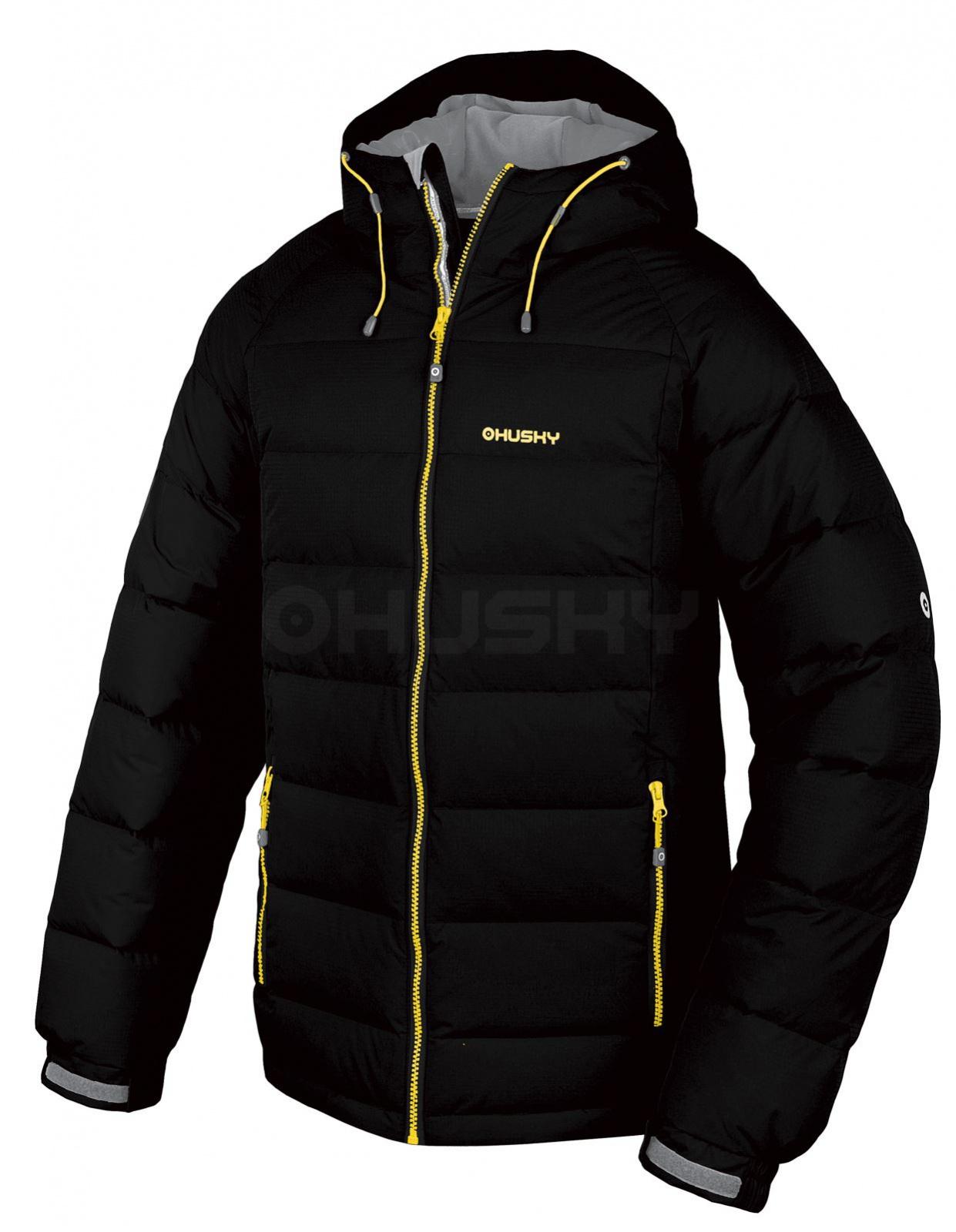 Husky Pánská péřová bunda Heral M černá Velikost: XXL