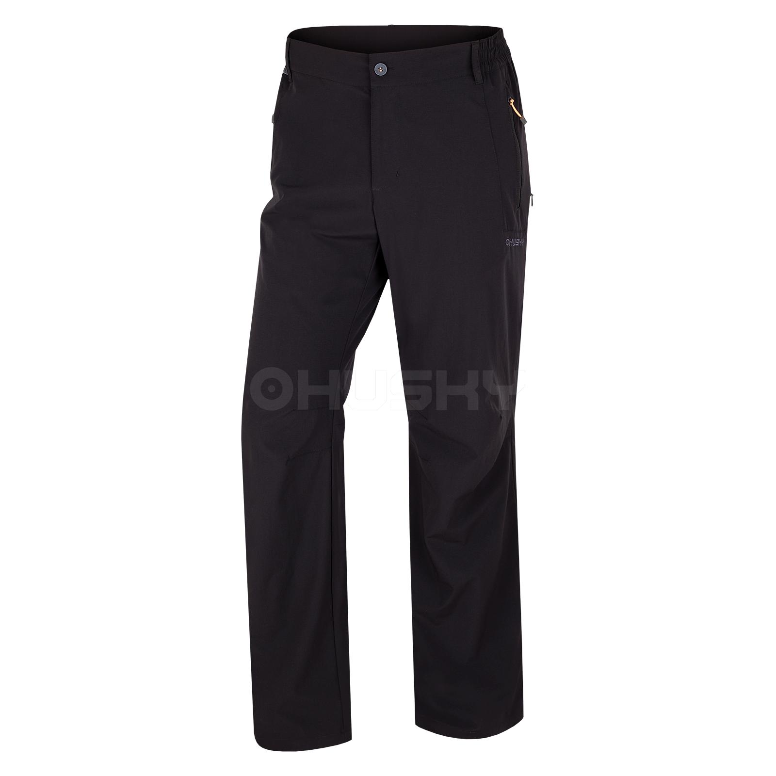 Husky Pánské outdoor kalhoty Pilon Compact M černá Velikost: XL