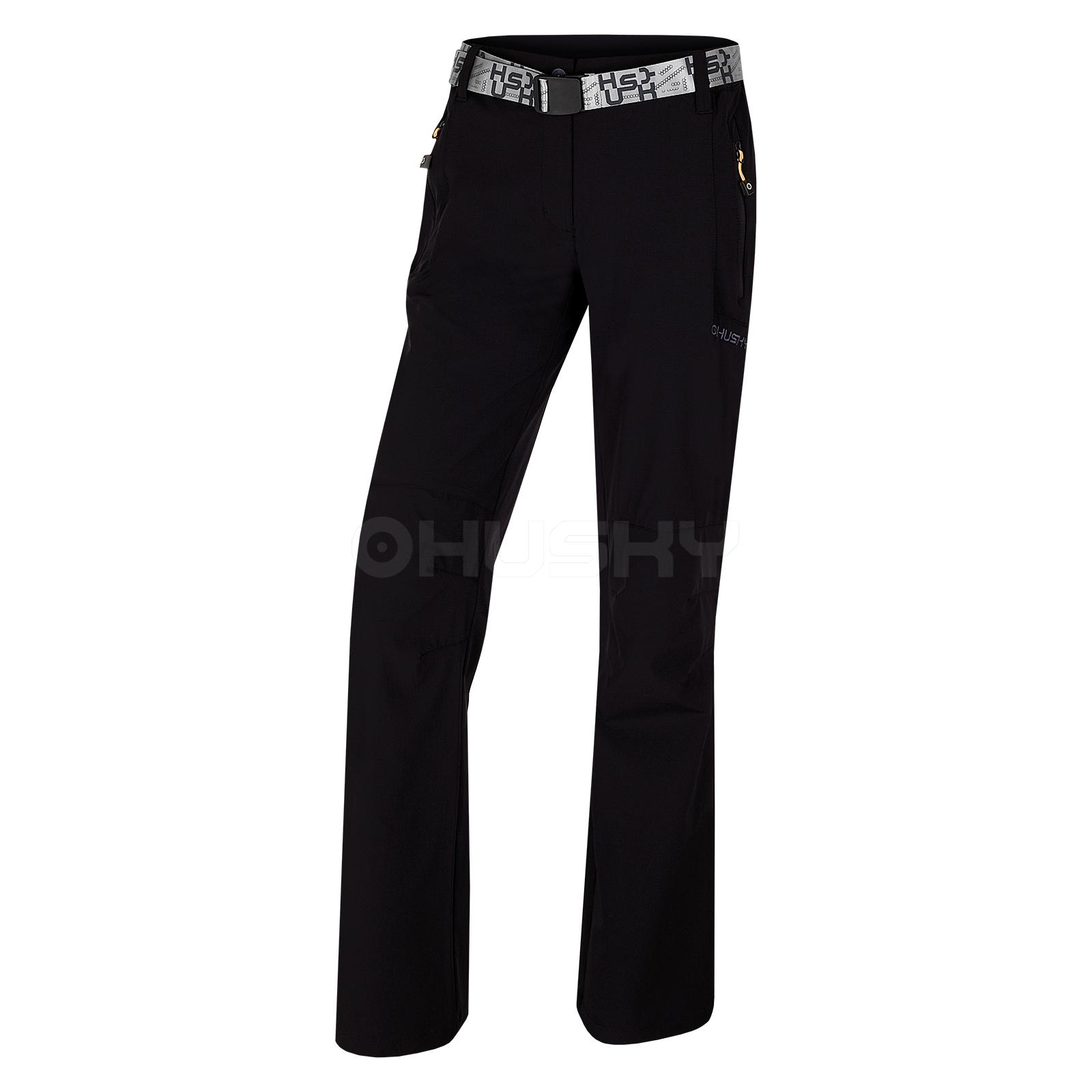 Husky Dámské outdoor kalhoty Pilon Compact L černá Velikost: XS