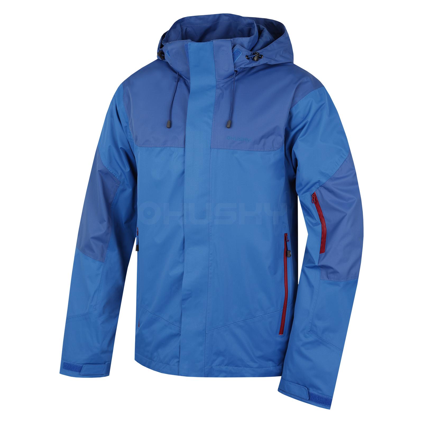 Husky Pánská outdoor bunda Nauzi M modrá Velikost: L
