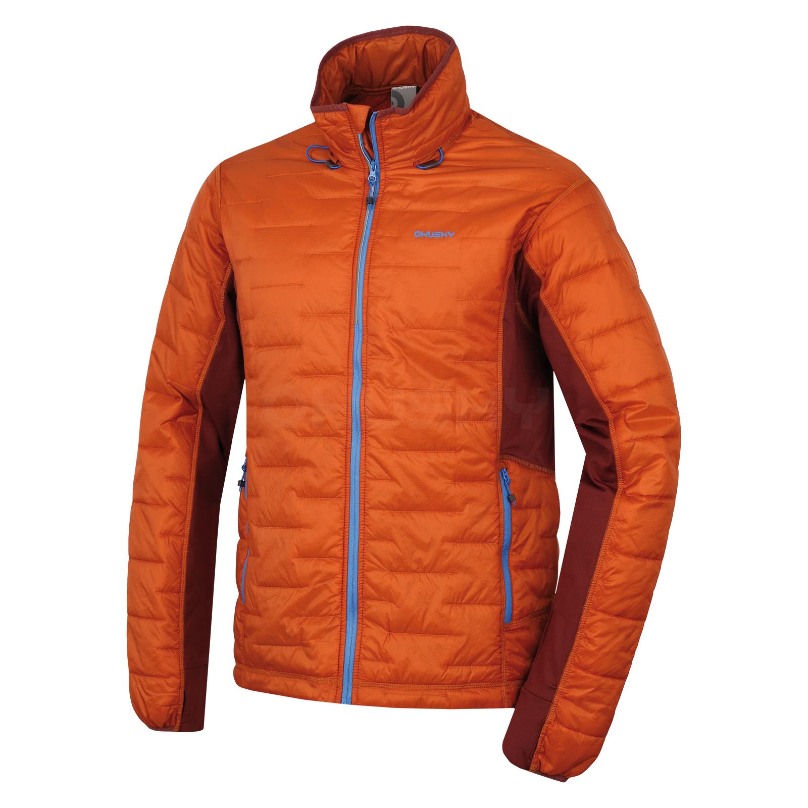 Husky Pánská outdoorová bunda Nimes M sv. hnědá Velikost: L