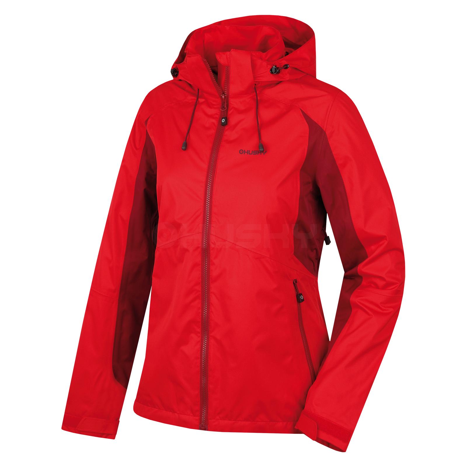 Husky Dámská outdoor bunda Nauzi L červená Velikost: M