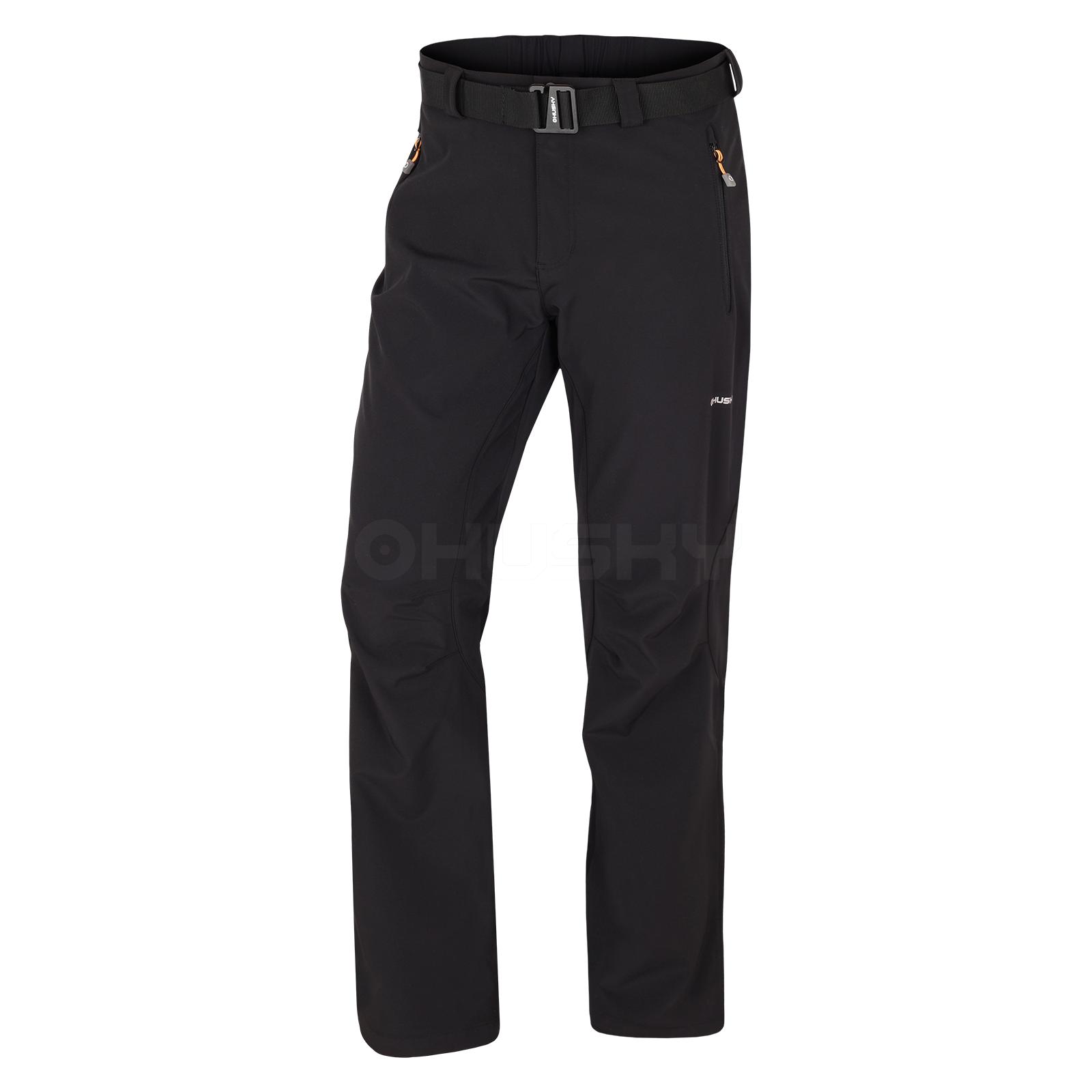 Husky Pánské outdoor kalhoty Lastop M černá Velikost: XL