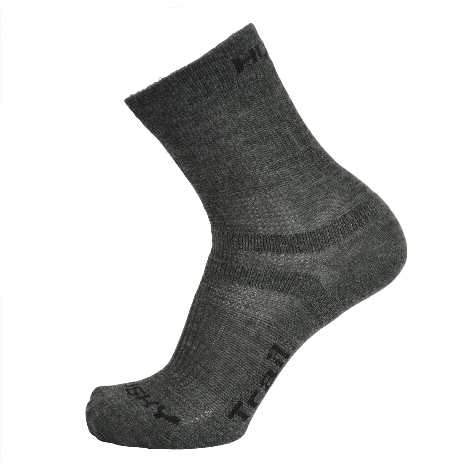 Husky Ponožky Trail antracit Velikost: L (41-44)