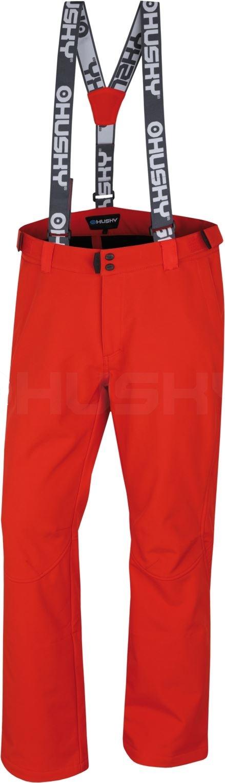 Husky Pánské lyžařské kalhoty Galti M červená Velikost: M