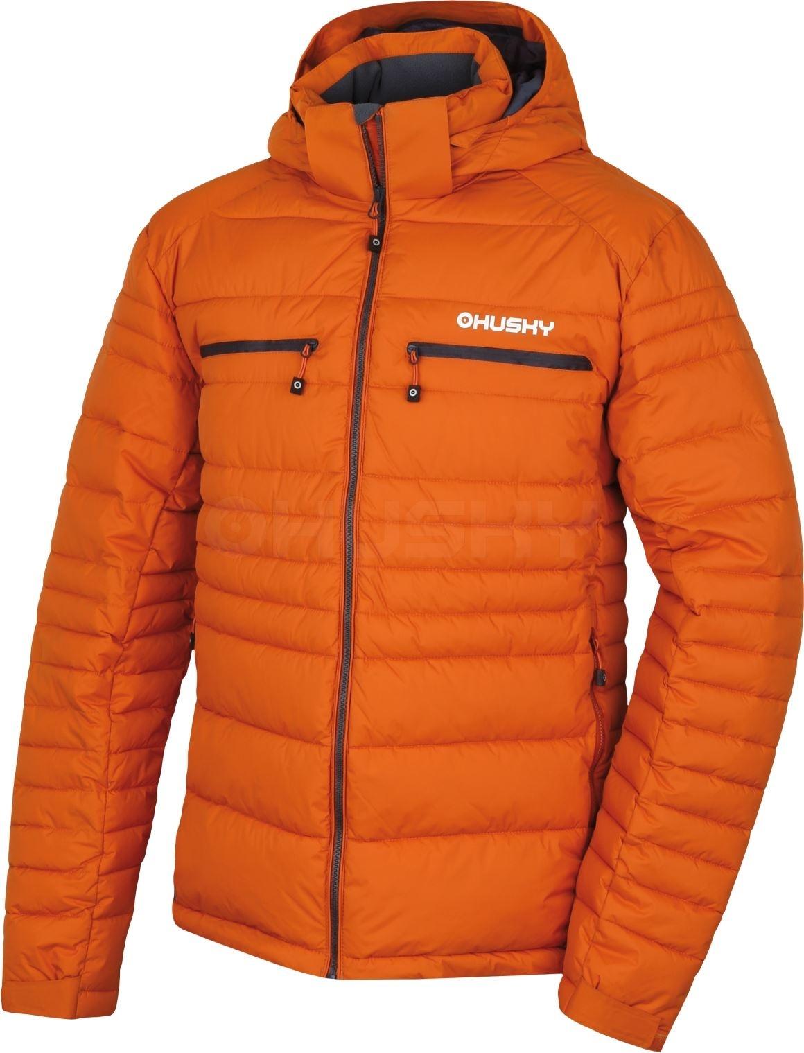 Husky Pánská plněná zimní bunda Norel M okrová Velikost: L