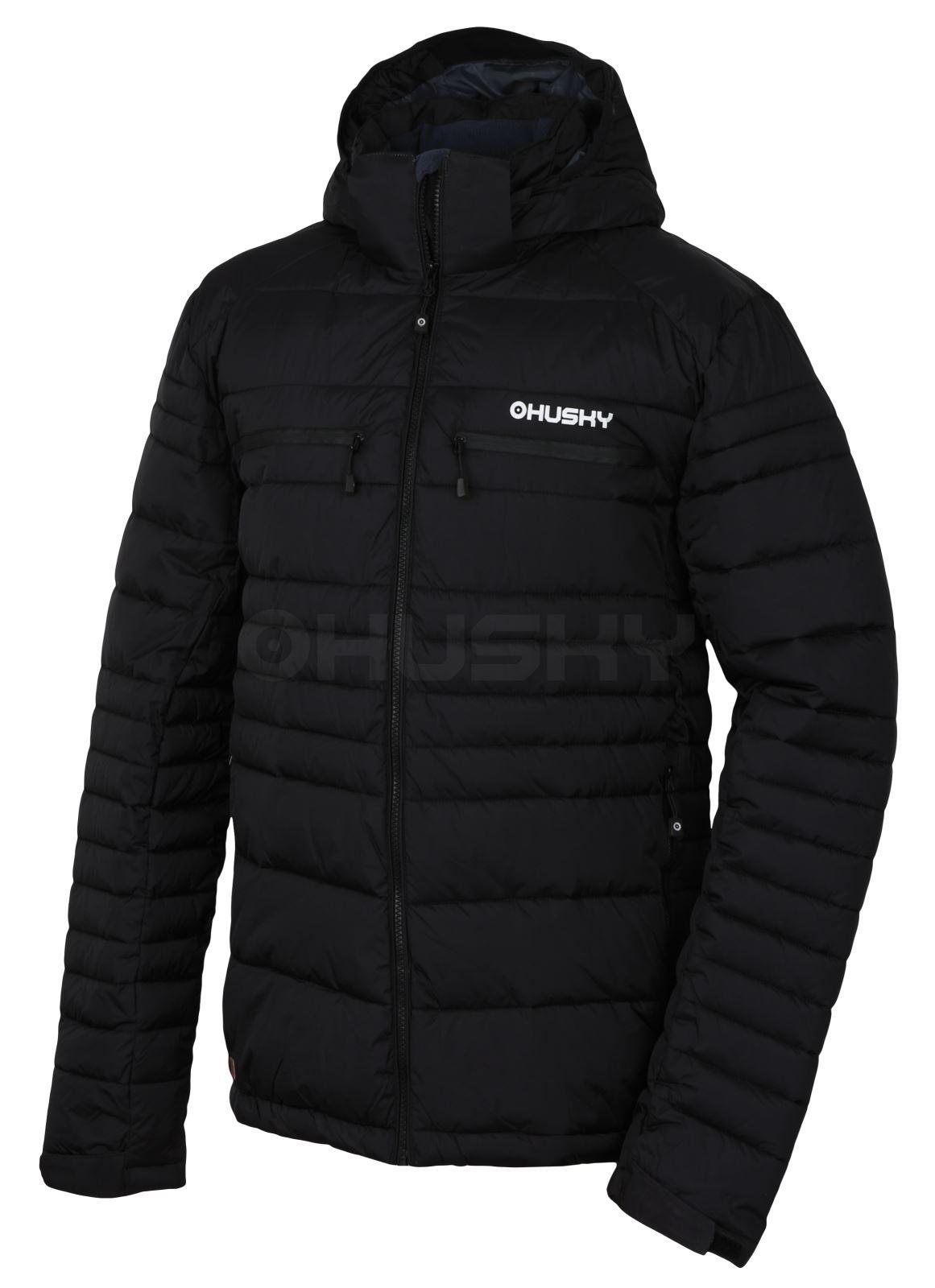 Husky Pánská plněná zimní bunda Norel M černá Velikost: XL