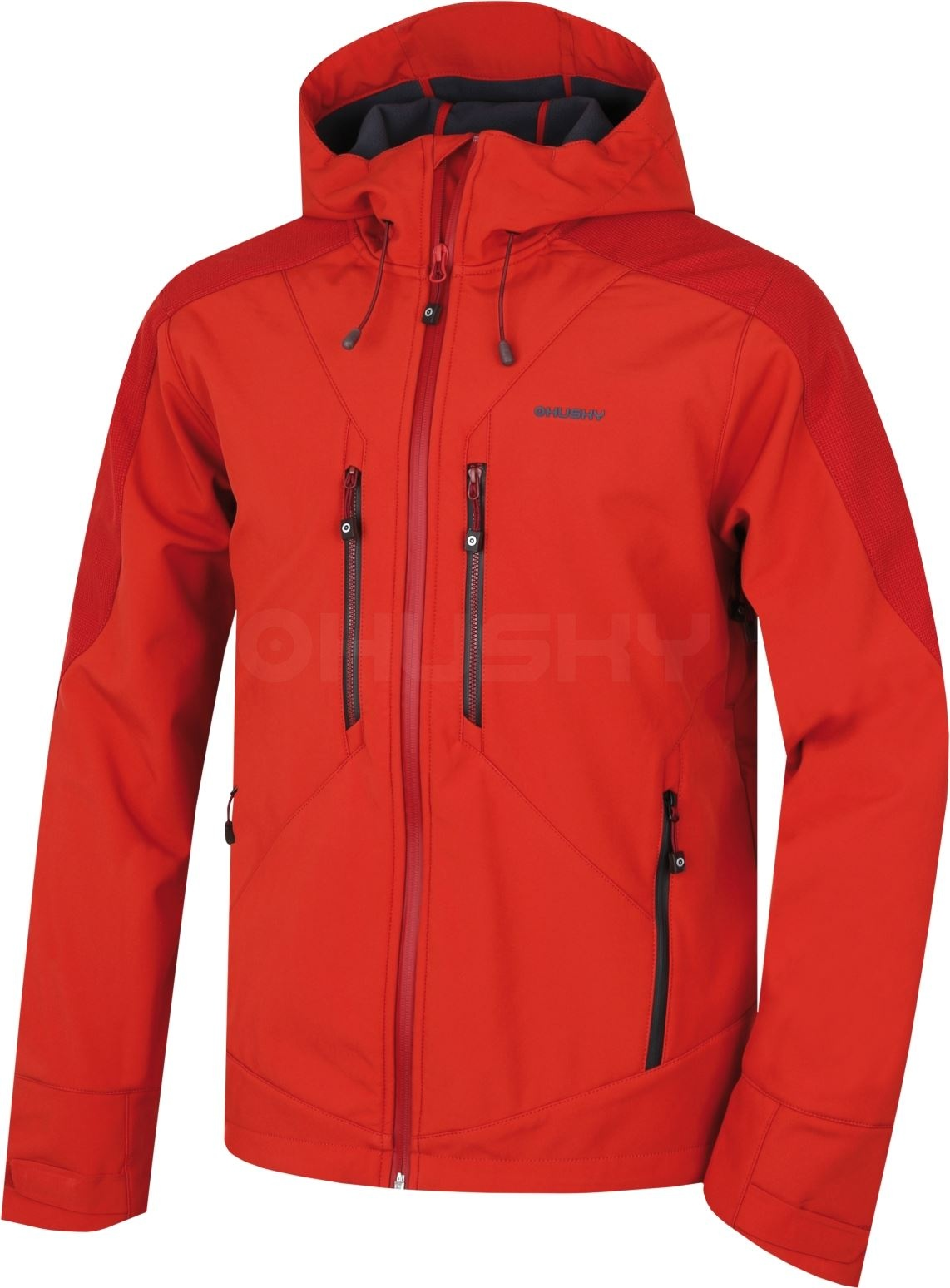 Husky Pánská softshell bunda Sevan M sv. červená Velikost: XXL