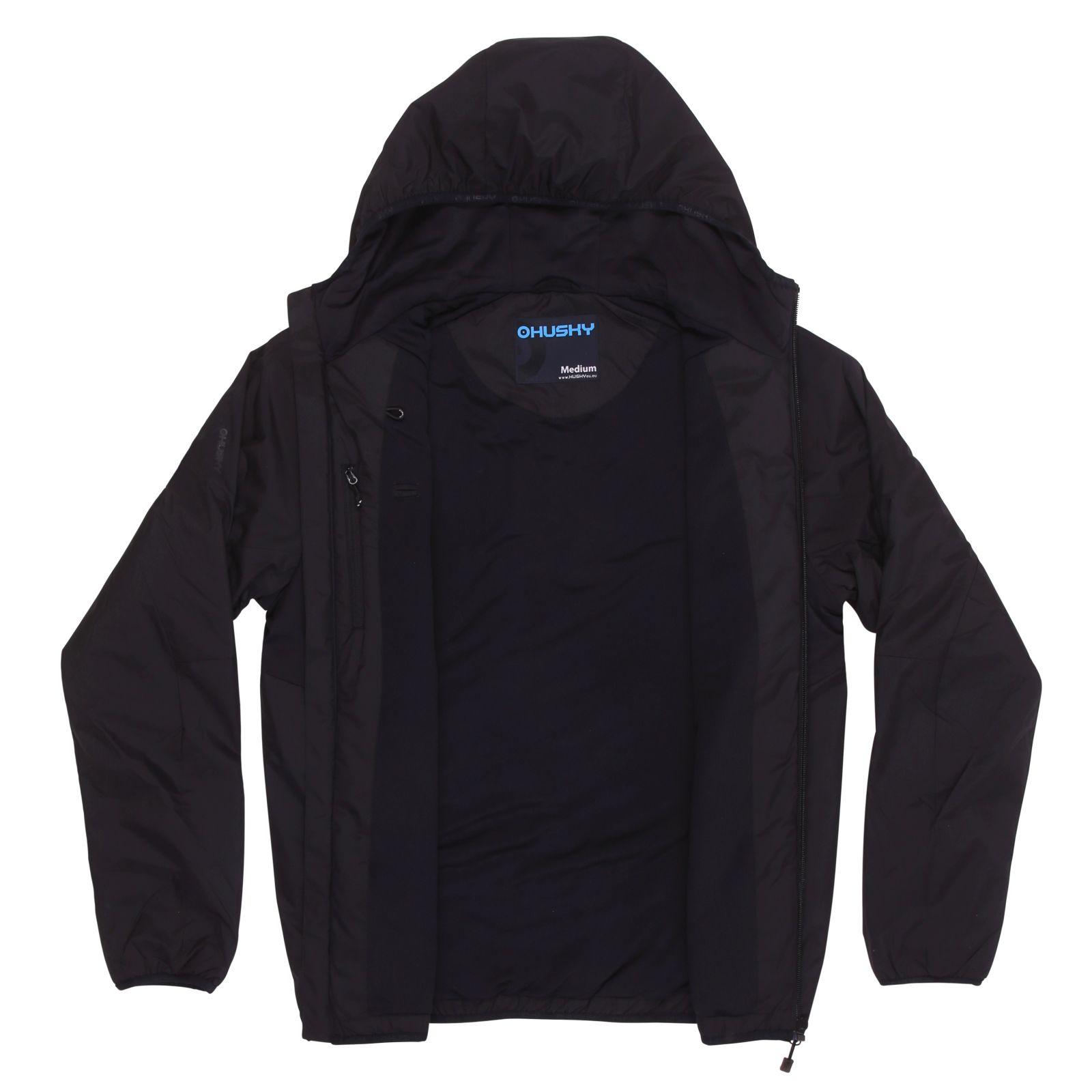 Husky Pánská hardshell bunda Nott M černá Velikost: M
