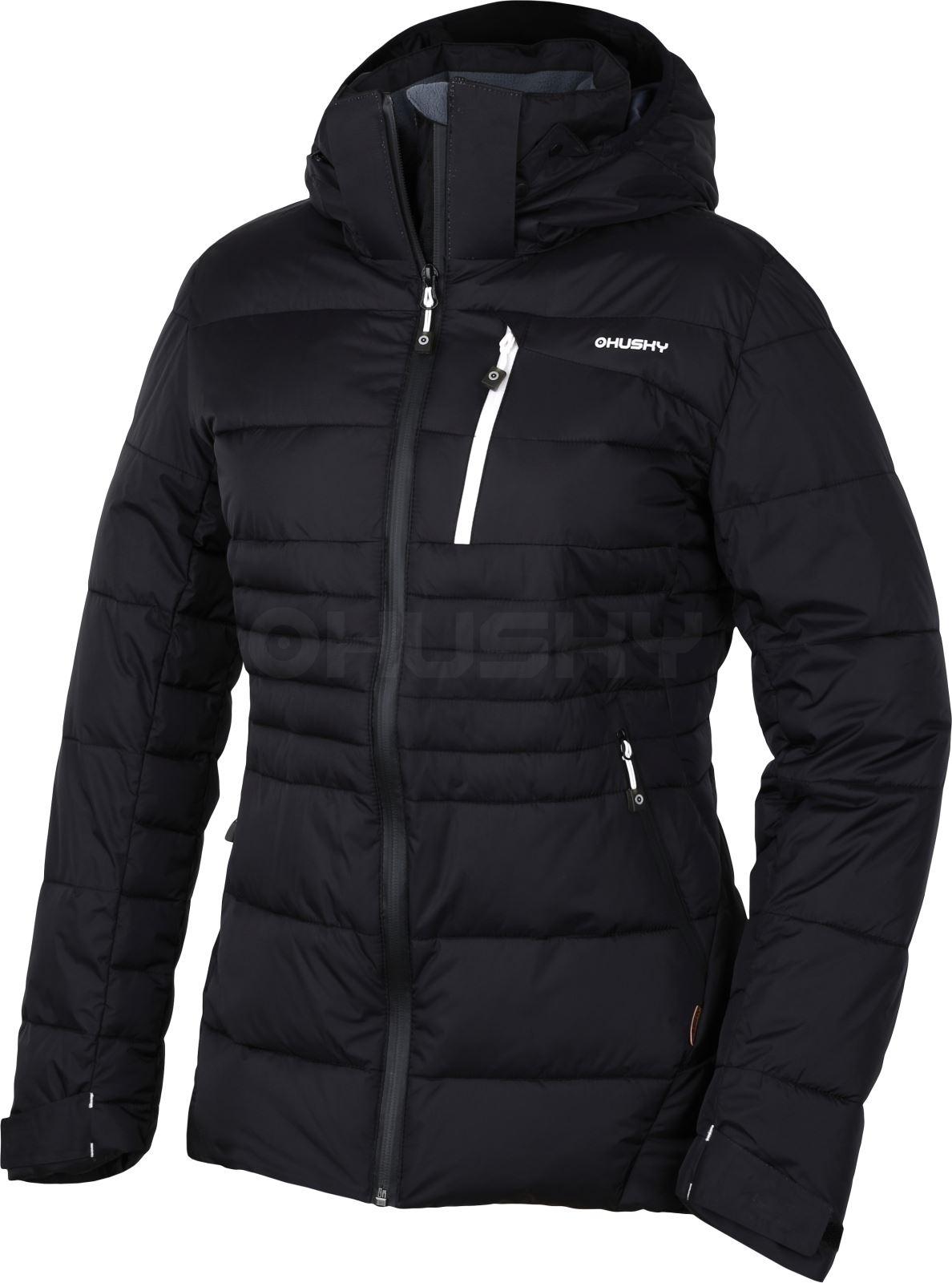 Husky Dámská plněná zimní bunda Norel L černá Velikost: L