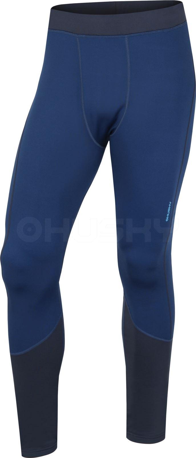 Husky Pánské termo kalhoty - podzim, zima Active winter pants M tm.modrá Velikost: L