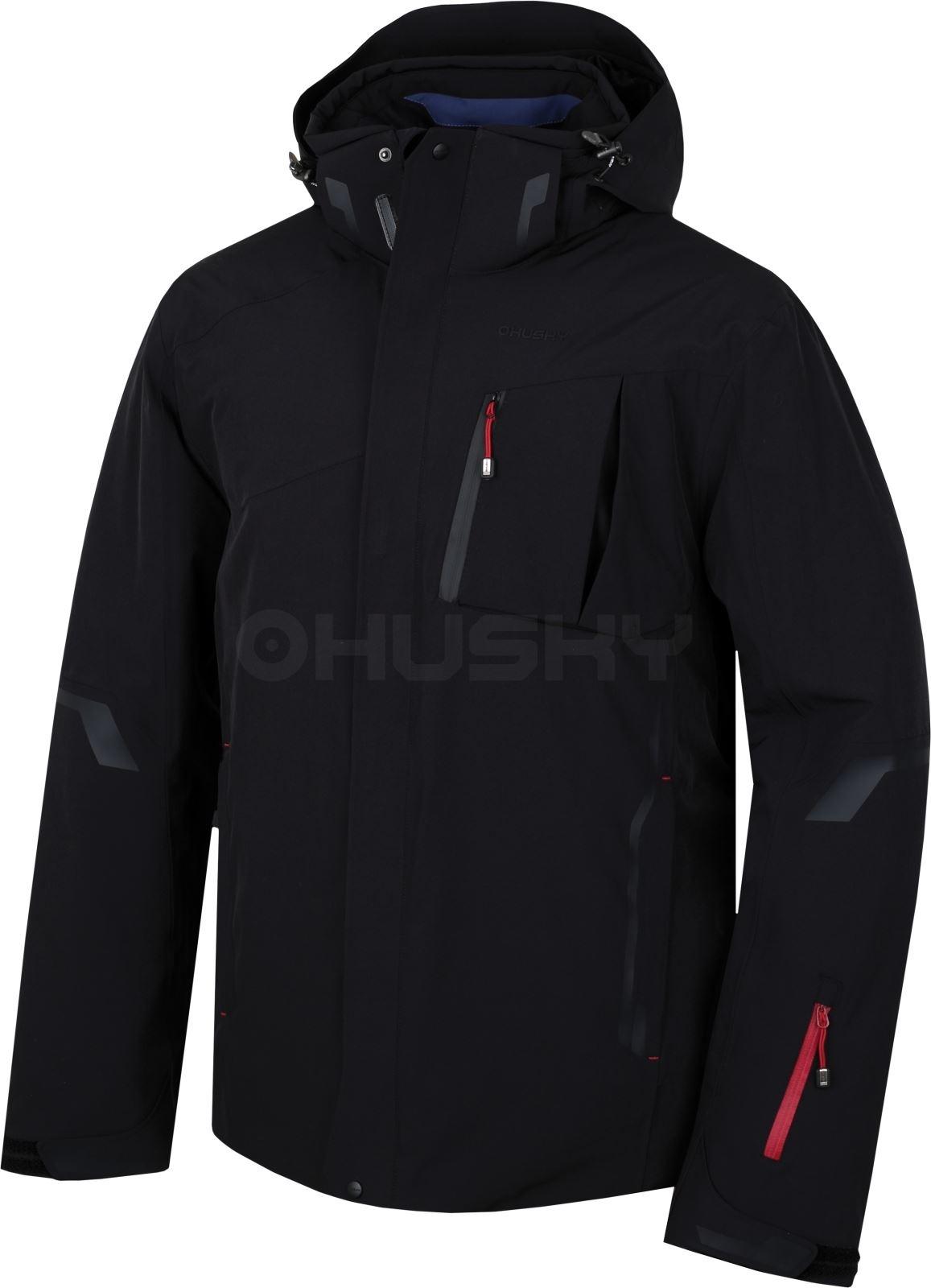 Husky Pánská lyžařská bunda Gerbis M černá Velikost: M