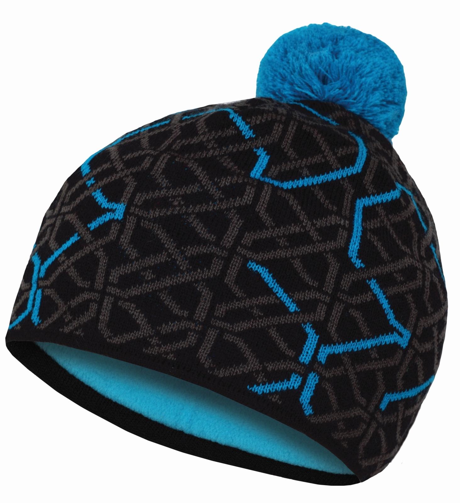 Husky Dětská čepice Cap 1 šedá/modrá Velikost: XS