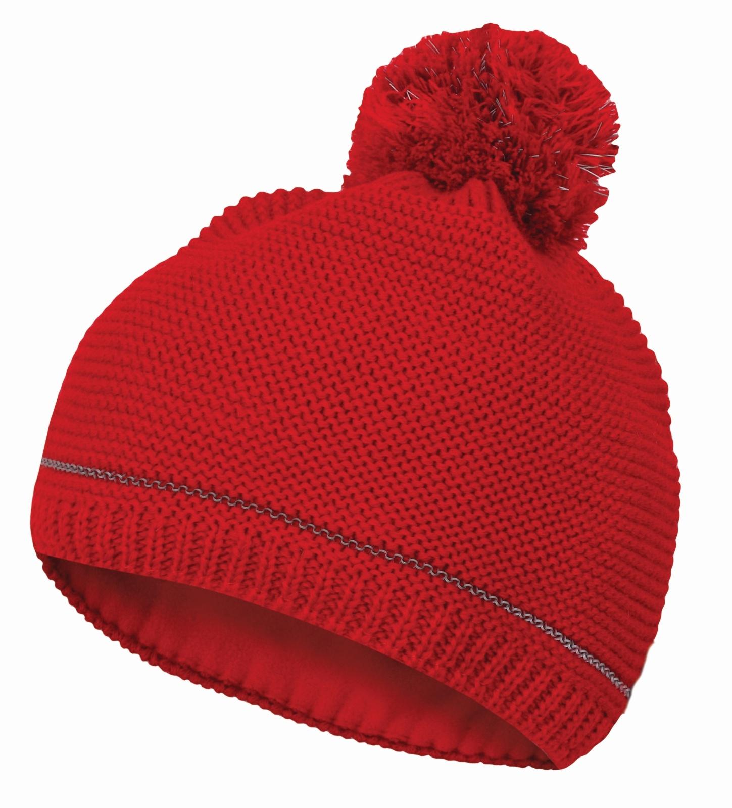 Husky Dámská čepice Cap 11 červená Velikost: S-M