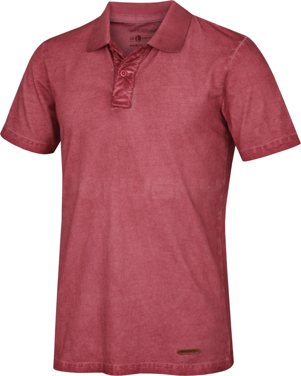 Husky Pánské triko Taron M červená Velikost: M