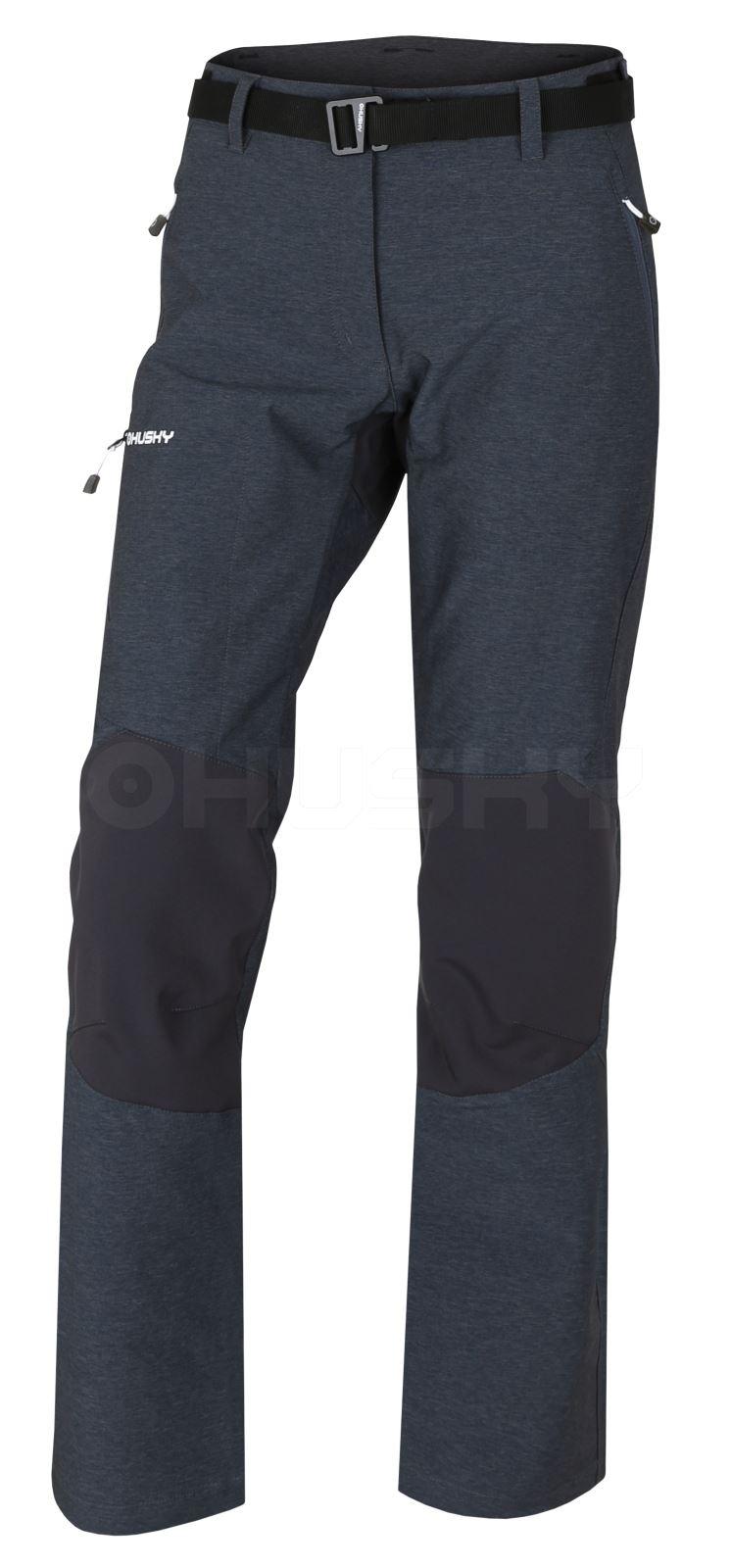 Husky Dámské outdoor kalhoty Klass L antracit Velikost: XL