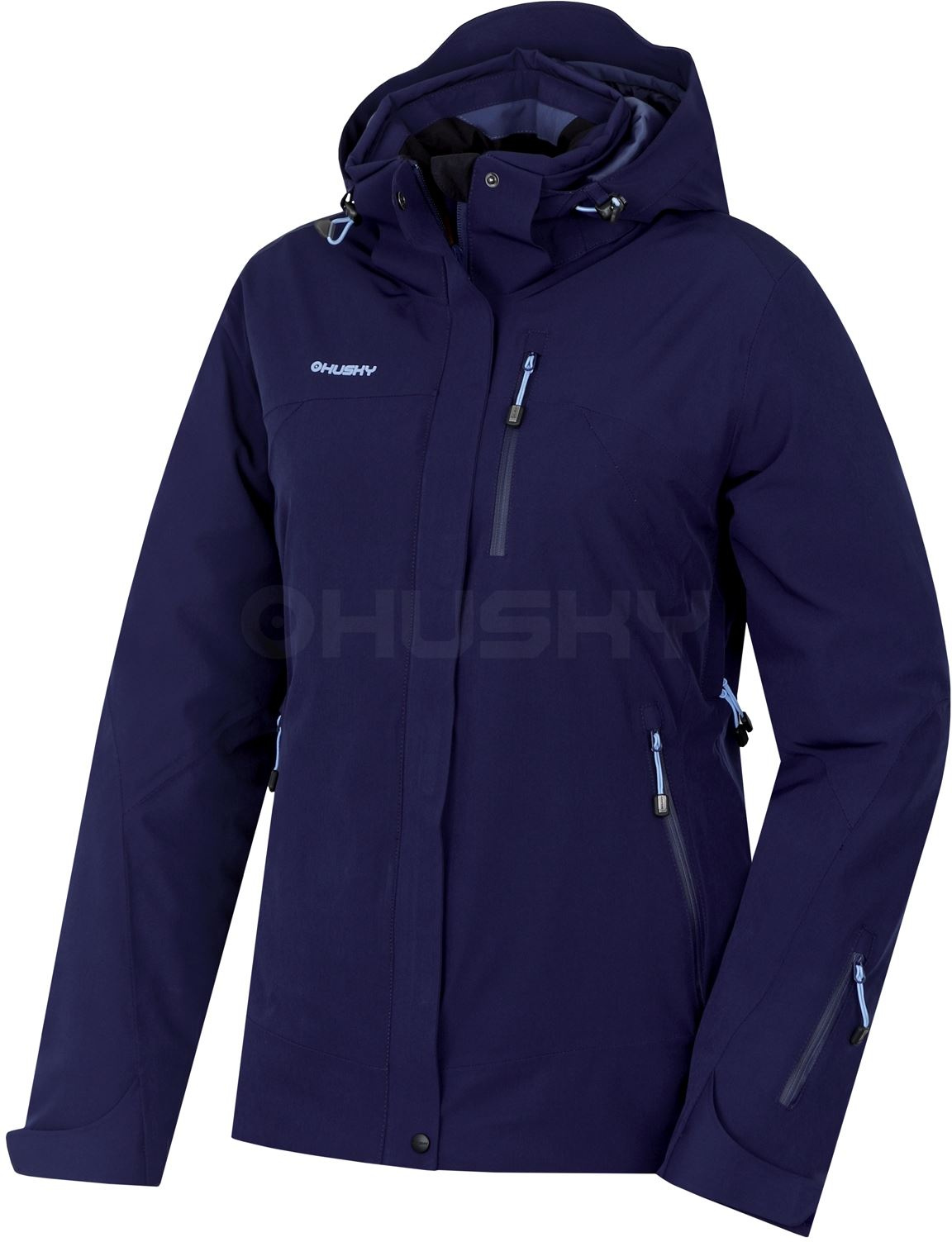 Dámská lyžařská bunda Gairi L tm.modrá Velikost: XL