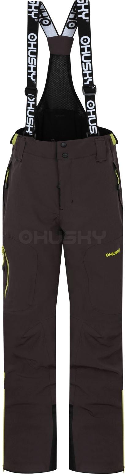 Husky dětské lyžařské kalhoty Zeus K grafit Velikost: 134
