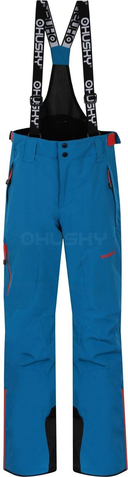 Husky Dětské lyžařské kalhoty Zeus Kids modrá Velikost: 134-140
