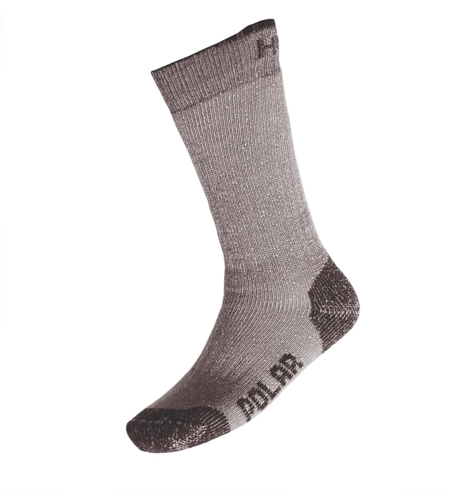 Husky Ponožky Polar antracit Velikost: XL (45-48)