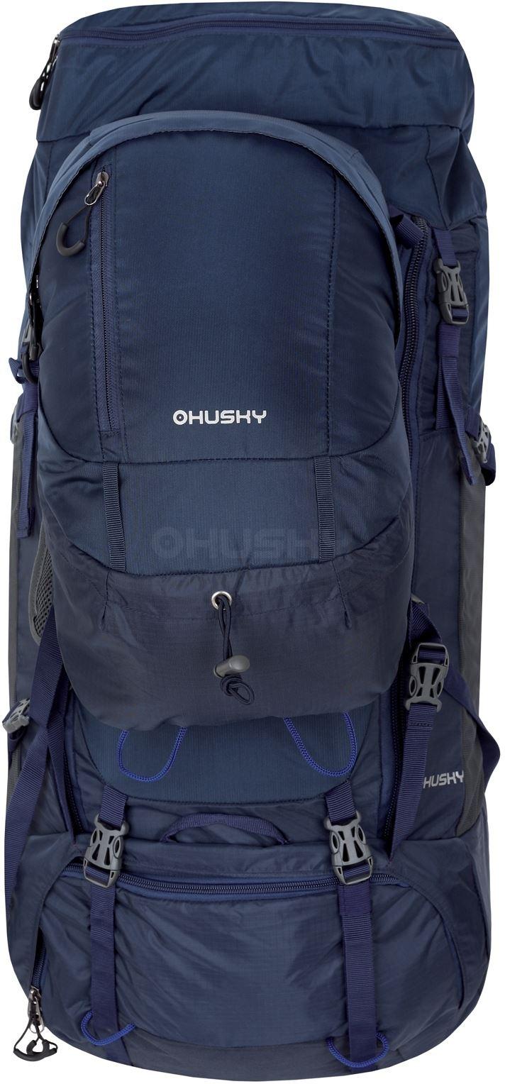 Husky Batoh Expedice Ravel 70+10l modrá 13822bbab8