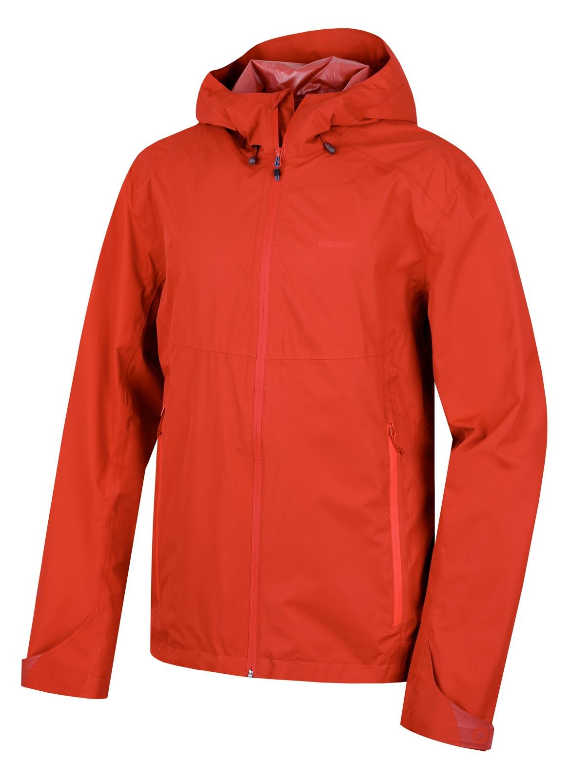 Husky Pánská outdoor bunda Lamy M tm. červená Velikost: M